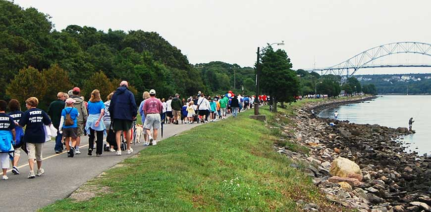 """Our 20th """"Cliff Walk"""" was a huge success!"""